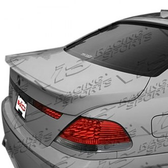 VIS Racing® - A Tech Style Fiberglass Rear Lip Spoiler (Unpainted)