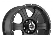 VISION OFF-ROAD® - ASSASSIN Matte Black with Chrome Bolts