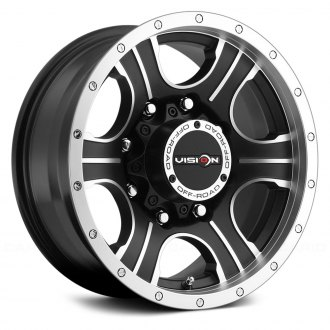 VISION OFF-ROAD® - ASSASSIN Matte Black with Machined Face