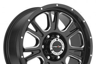 VISION OFF-ROAD® - FURY Gloss Black with Milled Spokes