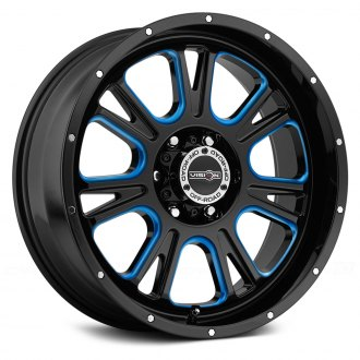 VISION OFF-ROAD® - FURY Gloss Black with Blue Accents