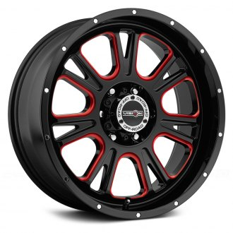 VISION OFF-ROAD® - FURY Gloss Black with Red Accents