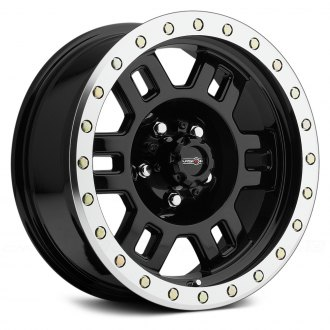 VISION OFF-ROAD® - 398 MANX Gloss Black with Machined Flange