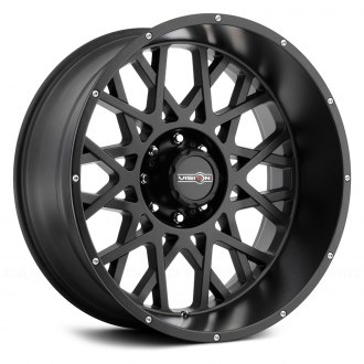 VISION OFF-ROAD® - ROCKER Satin Black with Chrome Bolts