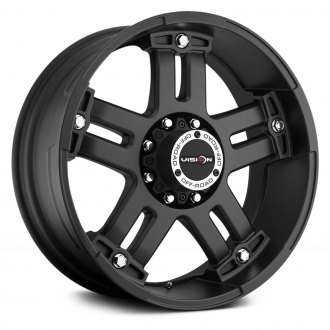 VISION OFF-ROAD® - WARLORD Matte Black with Chrome Bolts