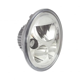 "Vision X® - 7"" Round Chrome Vortex Halo LED Headlight"