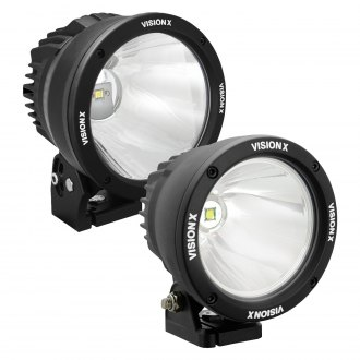 "Vision X® - Cannon Round Narrow Beam LED Lights (4.5"", 6.7"", 8.7"")"