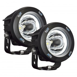 "Vision X® - Optimus Series Halo 3.7"" 10W Round LED Lights"