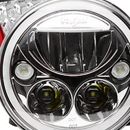 Vision X® - Full LED Headlight With Halo Ring