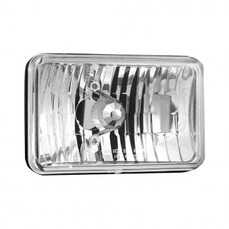 "Vision X® - 4x6"" Rectangular Chrome Euro Headlights"