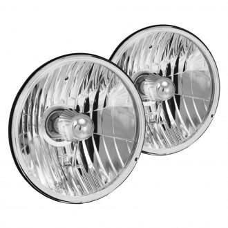 "Vision X® - 7"" Round Chrome Euro Headlights"
