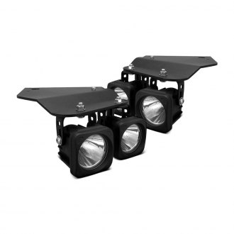 Vision X® - Fog Light Kit with Optimus Series Square Driving Lights