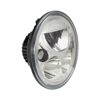 "Vision X® - Vortex 7"" Round Polished Chrome LED Driving Light with High/Low Halo, Single Light"