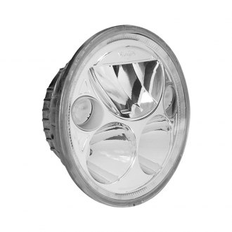 "Vision X® - Vortex 5 3/4"" Round Polished Chrome Full LED Halo Projector Headlights"