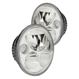 "Vision X® - Vortex 5 3/4"" Round Chrome Halo LED Headlights"