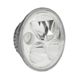 "Vision X® - Vortex 5 3/4"" Round Polished Chrome LED Driving Light with High/Low Halo, Single Light"
