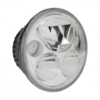 "Vision X® - 5 3/4"" Round Chrome Full LED Halo Projector Headlights"