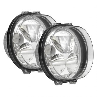 "Vision X® - Vortex 5 3/4"" Oval Polished Chrome LED Driving Lights with High/Low Halo"