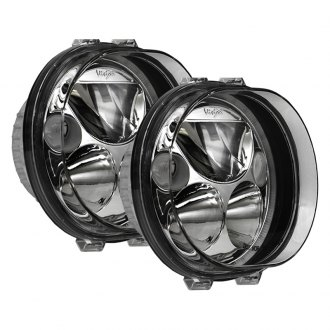 "Vision X® - Vortex 5 3/4"" Oval Black Chrome LED Driving Lights with High/Low Halo"