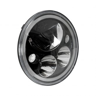 "Vision X® - Vortex 5 3/4"" Round Black Full LED Halo Projector Headlights"