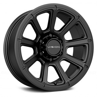VISION OFF-ROAD® - 353 TURBINE Matte Black