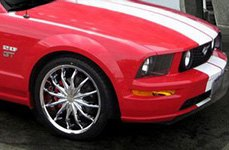 VISION® - SHATTERED Chrome on Ford Mustang