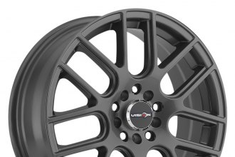 "VISION® - CROSS Gunmetal (16"" x 7"", +48 Offset, 5x114.3 Bolt Pattern, 73.1mm Hub)"
