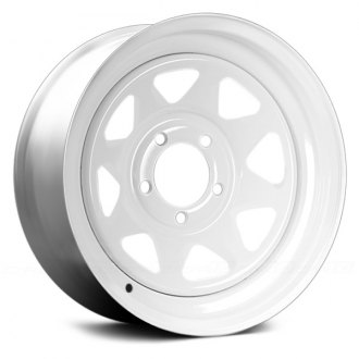 VISION® - 8 SPOKE TRAILER White
