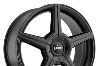 "VISION® - AUTOBAHN Matte Black (16"" x 7"", +40 Offset, 5x114.3 Bolt Pattern, 74.1mm Hub)"