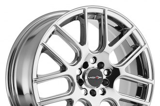 "VISION® - CROSS Phantom Chrome (17"" x 7"", +38 Offset, 5x110 Bolt Pattern, 73.1mm Hub)"