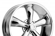 "VISION® - LEGEND 5-142 Chrome (18"" x 8.5"", ++20 Offset, 5x120.65 Bolt Pattern, 83mm Hub)"