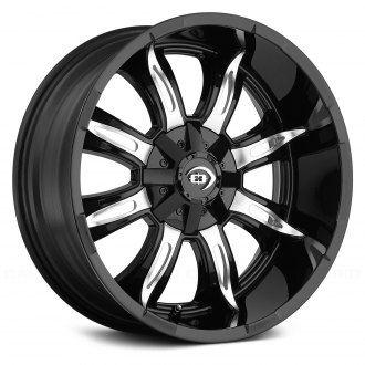 VISION® - MANIC Gloss Black with Machined Face