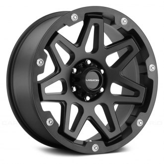 VISION OFF-ROAD® - 416 SE7EN Satin Black