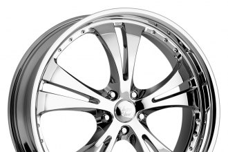 "VISION® - SHOCKWAVE Chrome (18"" x 8"", +42 Offset, 5x114.3 Bolt Pattern, 74.1mm Hub)"