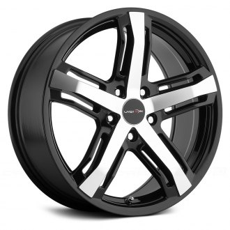 VISION® - TZAR Gloss Black with Machined Face