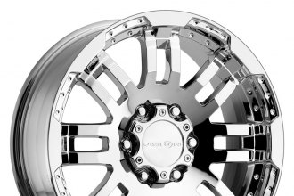 "VISION® - WARRIOR Phantom Chrome (17"" x 8.5"", +25 Offset, 5x127 Bolt Pattern, 78.1mm Hub)"