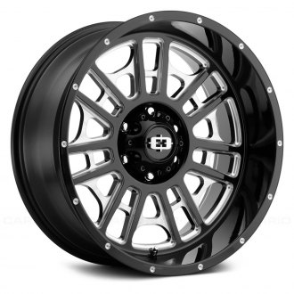 VISION OFF-ROAD® - 418 WIDOW Gloss Black with Milled Accents