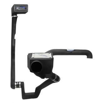 Volant® - Plastic Black Cold Air Intake System and Snorkel with Donaldson PowerCore® Blue Filter