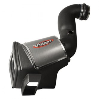 Volant® - Plastic Black Cold Air Intake System with Blue Filter