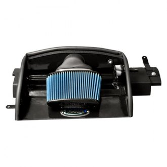 Volant® - Open Element Plastic Black Cold Air Intake System with Pro 5 Blue Filter