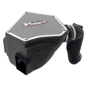 Volant® - Plastic Black Cold Air Intake System with Primo Blue Filter