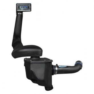 Volant® - Plastic Black Cold Air Intake System and Snorkel with Pro 5 Blue Filter