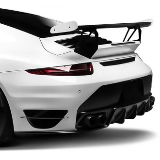 Vorsteiner® - V-RT Aero Carbon Fiber Rear Bumper with Integrated Diffuser