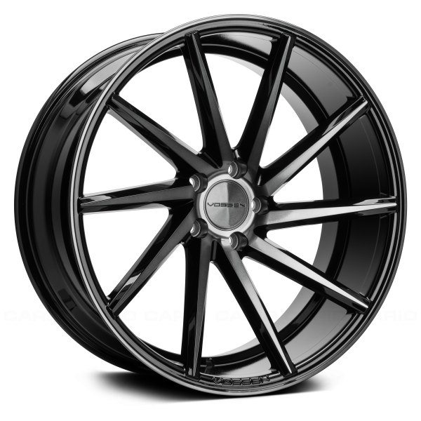 VOSSEN® - CVT Gloss Black with Tinted Face