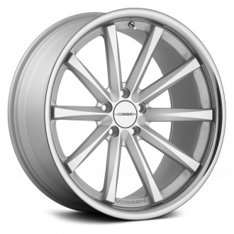 VOSSEN� - VVSCV1 Matte Silver with Machined Face and SS Lip