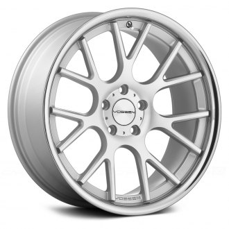 VOSSEN® - VVSCV2 Matte Silver with Machined Face and SS Lip