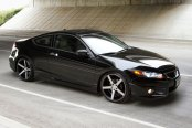 VOSSEN® - VVSCV3 Matte Black with Machined Face on Honda Accord
