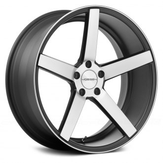 VOSSEN® - VVSCV3 Matte Black with Machined Face