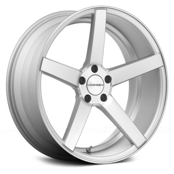 VOSSEN® - VVSCV3 Matte Silver with Machined Face