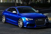 VOSSEN® - VVSCV4 Matte Graphite with Machined Face and Ring on Audi RS5